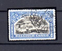 1916  Ruanda-Urundi, Type Tombeur  Surcharge Ruanda, 12 Ob, Cote 300 €, - Ruanda-Urundi