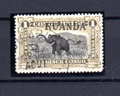 1916  Ruanda-Urundi, Type Tombeur  Surcharge Ruanda, 15 Ob, Cote 1260 €, - Ruanda-Urundi