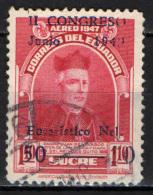 ECUADOR - 1949 - 2° CONGRESSO EUCARISTICO A QUITO - USATO - Ecuador