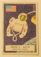 HEROES JAMES McDIVIT & ED WHITE-GEMINI IV,1965-COSMOS,E'SPACE,SPACE,SEITA - Boites D'allumettes - Etiquettes