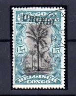 1916  Ruanda-Urundi, Type Tombeur Surcharge Urundi, 18 Ø, Cote 550 €   Sans Garantie - Ruanda-Urundi