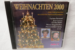 """CD """"Weihnachten 2000"""" Die Schönsten Weihnachtsmelodien - Weihnachtslieder"""