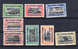1916 Ruanda-Urundi Congo Surcharge Est Africain, 28 / 35 *, Cote 86 €, - Ruanda-Urundi