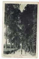 COYE La FORÊT - Route De Lamorlaye -flamme Postale De Coye - Voyagée 1937- Bon état - Frankrijk