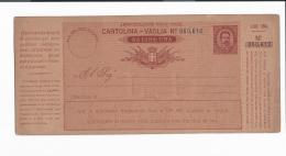 Italien A  2 **  -  10 Cmi  Umberto Postanweisung - Annulato - 1878-00 Umberto I