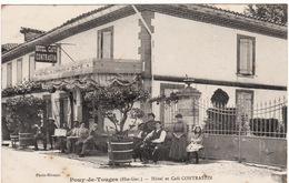 31 POUY-DE-TOUGES **Hôtel Et Café CONTRASTIN** - France