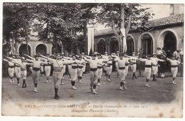31 RIEUX INSTITUTION SAINT CIZI **Fête De Gymnastique Du 22 Juin 1913, Mouvements D'ensemble (Adultes)** - France
