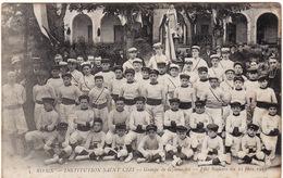 31 RIEUX INSTITUTION SAINT CIZI ** Groupe De Gymnastes - Fête Scolaire  Du 22 Juin 1913** - France