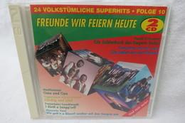 "2 CDs ""Freunde Wir Feiern Heute"" 24 Volkstümliche Superhits, Folge 10 - Music & Instruments"
