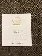 Estee Lauder Beautiful Belle - Cartes Parfumées