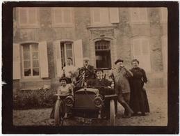 PHOTO (57) VOITURE ADLER APPELEE MOTORWAGEN De L'INGENIEUR EDMUND RUMPLER. LE LIEU EST A SITUER. - Automobiles