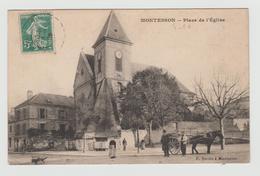 Carte Montesson 1900 - Montesson