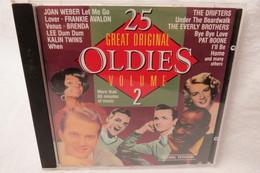 "CD ""25 Great Original Oldies"" Volume 2, Original Versions - Hit-Compilations"