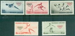 Ruanda Urundi 219/223 ** MNH. 1960 - Ruanda