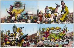 D06  NICE CARNAVAL LXXV ( 1959 ) THEME LA LUNE LOT DE 10 CPSM TOUTES SCANNEES - Carnaval