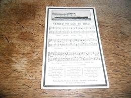 """CPA  Nearer My God To Thee ! Hymne Jouée Par L'orchestre Du Paquebot SS """"Titanic"""" Lors De Son Naufrage Le 15 Avril 1912 - Paquebots"""