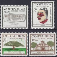 COSTA RICA FOUNDING Of The CITY Of LIBERIA Sc C535-C538 MNH 1972 - Costa Rica