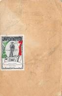 """1386 """"CARTOLINA DELLA SERIE BANDIERE - 1915 CON CARTIGLIO A SINISTRA-ERINNOFILO R. ESERC. IT."""" CART. POST. ORIG. SPED. - 1900-44 Victor Emmanuel III"""
