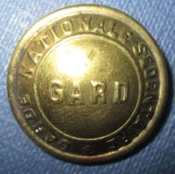 Bouton Garde Nationale Du Gard 1870-Grand Module - Buttons