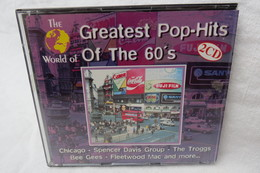 "2 CDs ""Greatest Pop-Hits Of The 60's"" Div. Interpreten - Compilations"