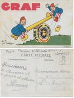"""CPA PUBLICITAIRE FROMAGES JURA """"GRAF"""" Illustrée Par Jöe BRIDGE - Illustrators & Photographers"""