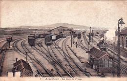 ARGENTEUIL - La Gare De Triage. - Argenteuil