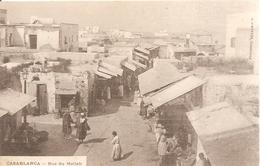 Casablanca . Rue Du Mellah . - Casablanca
