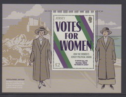 Jersey 2018 - Votes For Women Miniature Sheet- Unmounted Mint NHM - Jersey