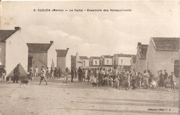 Oudjda . Maroc . Le Camp . Ensemble Des Barraquements . - Maroc