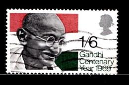 UK 1969 Used Stamp(s) Ghandi Nr. 527 - 1952-.... (Elizabeth II)