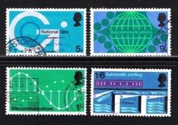 UK 1969 Used Stamp(s) Technology Nrs. 528-531 - 1952-.... (Elizabeth II)