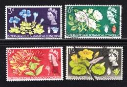 UK 1965 Used Stamp(s) Botanical Garden Nrs. 378-381 - 1952-.... (Elizabeth II)
