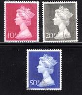 UK 1970 Used Stamp(s) QE II Decimal Values Nrs. 549-551 - 1952-.... (Elizabeth II)