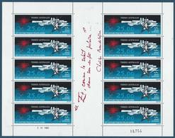 TAAF 1982 - Bloc Feuillet Du PA N°78 - 25 F. - Oeuvre Du Peintre Mathieu - Terres Australes - NEUF** - TTB Etat - Blocs-feuillets