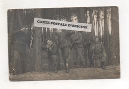GUERRE 1914/18 - SOLDATS BELGES AVEC LEURS FUSILS MAUSER 1889 - Zonder Classificatie