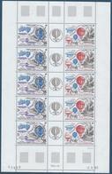 TAAF 1984 - Bloc Feuillet Du PA N°83A - Triptyque - Ascensions De L'homme Dans L'atmosphère - NEUF** - TTB Etat - Blocs-feuillets
