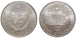 5 Pesos 1984 (Cuba) Silver - Cuba