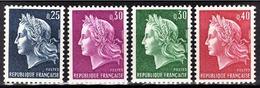 FRANCE 1967 -  SERIE 4 TP NEUFS** / Y.T. N° 1535 / 1536 / 1536A / 1536B - France