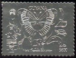 Guyana 1992 'Genova 92' International Thematic Stamp Exhibition BUTTERFLIES DINOSAURS PENGUINS SHELLS FUNGI GIRAFFES ELE - Guyana (1966-...)