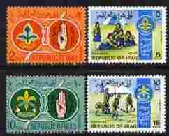 Iraq 1967 Iraqi Scouts & Guides Perf Set Of 4 U/m, SG 787-90 - Iraq