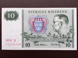 SWEDEN 23 10 KRONUR 1976 REPLAC UNC - Suède