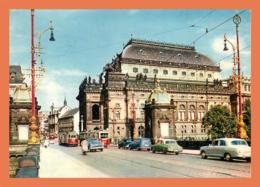 A713 / 193  Tchequie PRAHA National Theatre ( Timbre - Voiture ) - Tschechische Republik