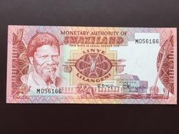 SWAZILAND P1 1 LILANGENI 1974 UNC - Swaziland