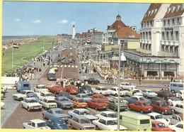 OLANDA - NEDERLAND - Paesi Bassi - Holland - Noordwijk Aan Zee - Koningin Wilhelmina Boulevard - Old Cars - Not Used - Noordwijk (aan Zee)