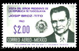 Mexico 1963 President Tito Unmounted Mint. - Mexico