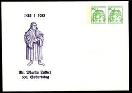 Bund PU209 C1/001 500 Geb.MARTIN LUTHER Coburg 1983  Kat.8,00€ - [7] République Fédérale