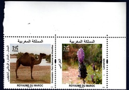 Morocco, 2018. Faune Et Flore Du Maroc- Full Set. MintNH. - Morocco (1956-...)