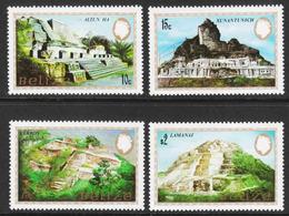 Belize - Scott #680-83 MNH (4) - Mayan Monuments - Belize (1973-...)
