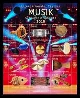 United Nations (Vienna) 2018 Mih. 1028/39 Musical Instruments MNH ** - Vienna - Ufficio Delle Nazioni Unite