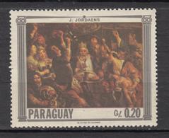 Paraguay, Jordaens Le Roi Boit, Vin, Wine, Alcool, Alcohol, King - Wines & Alcohols